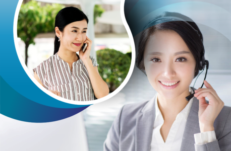 Women learning how to make cold calls effectively